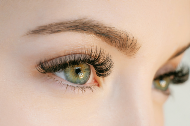 Eyelashes - Voila Hair Salon offers eyelash and eyebrow services including fillings, lifts and tints.