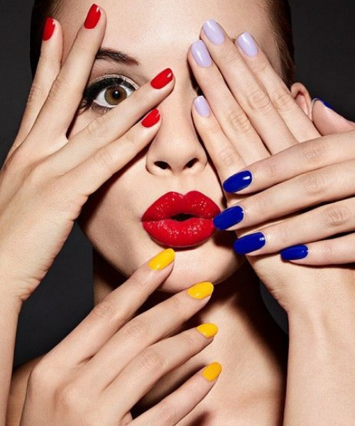 Nails - Voila Hair Salon offers high-quality nail care using OPI gel, liquid and powder products.